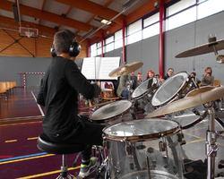 Ecole de batterie TAMA - Muespach-Le-Haut - PHOTOS - CONCOURS RÉGIONAL DE L'ACADÉMIE MUSICALE DE FRANCE À HOMBOURG (68) LE 12 MARS 2016.