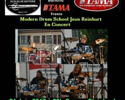 Ecole de batterie TAMA - Muespach-Le-Haut - PHOTOS - LES ÉCOLES DE BATTERIE MODERN DRUM SCHOOLS JEAN REINHART EN CONCERT LE 21 JUIN 2017