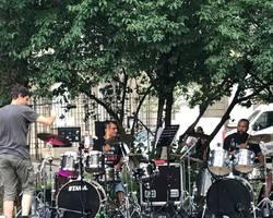 Ecole de batterie TAMA - Muespach-Le-Haut -  PHOTOS - FÊTE DE LA MUSIQUE DU 21 JUIN 2017 AU SQUARE STEINBACH À MULHOUSE