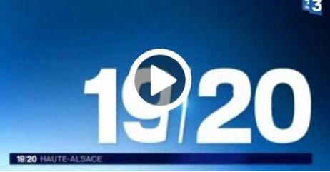 REPORTAGE DU 1ER OCTOBRE 2015 SUR FRANCE 3 ALSACE