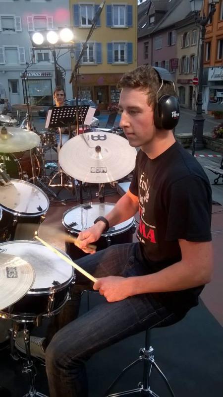 Drum Cover Roxanne (Police)Fête de la Musique du 21.06.2015 à Altkirch